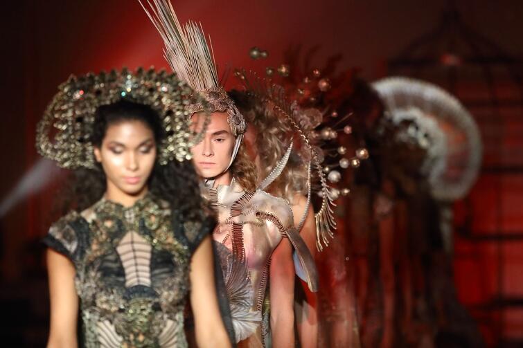 W ramach sobotniego wydarzenia odbył się pokaz mody w duchu idei ciałopozytywności