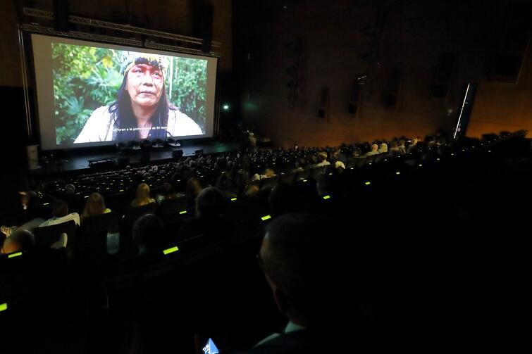 Niedzielna konferencja w ECS przyciągnęła setki osób zainteresowanych kwestią zmian klimatycznych