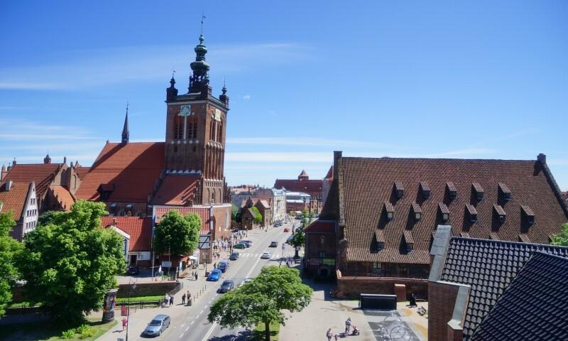 Kościół pod wezwaniem św. Katarzyny (Aleksandryjskiej) w Gdańsku. Mieści się tu również Muzeum Zegarów Wieżowych