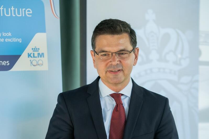 Dyrektor generalny sprzedaży Air France i KLM w Polsce Frantisek Siling
