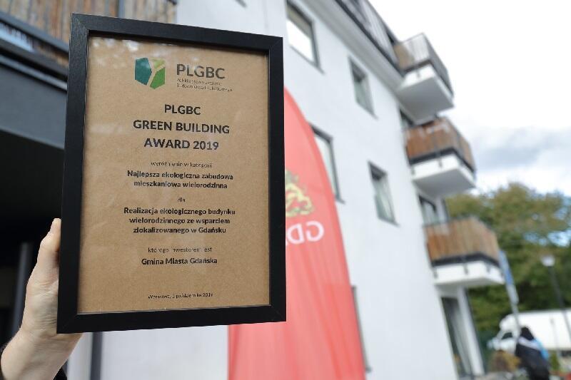 Dom na Dolnych Młynach został nagrodzony przez Polskie Stowarzyszenie Budownictwa Ekologicznego