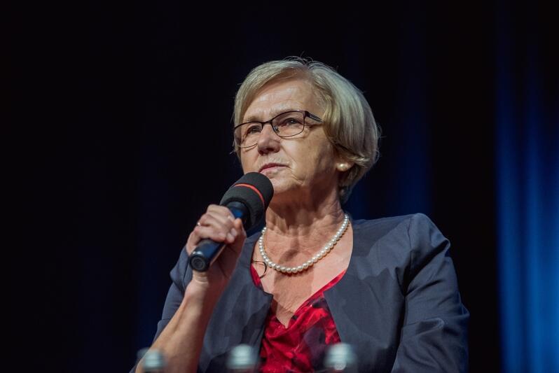 Danuta Wałęsa, przewodnicząca rady fundatorów Fundacji Sprawi Inaczej podkreśla: - Justyna Rogińska jest motorem tego wszystkiego