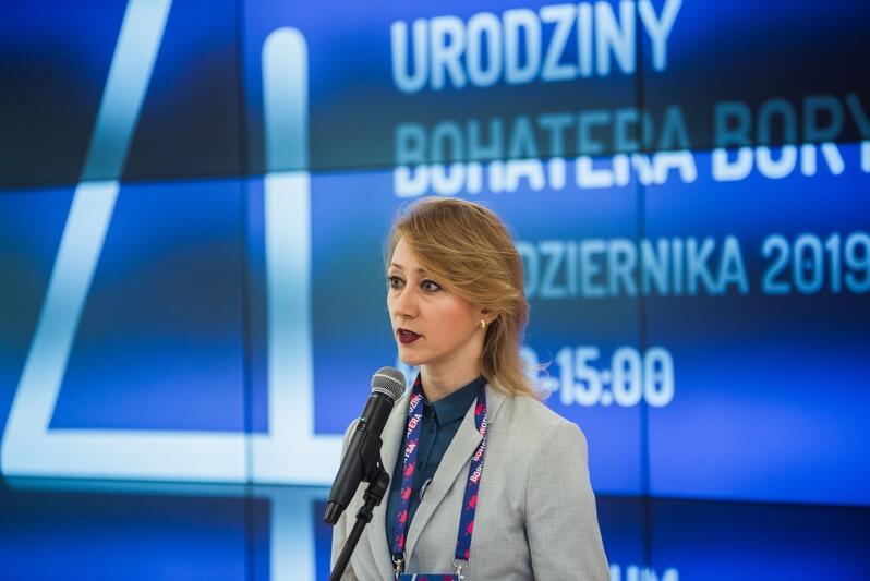 Wicemarszałek województwa pomorskiego Agnieszka Kapała-Sokalska
