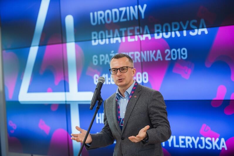 Prof. Marcin Gruchała, rektor Gdańskiego Uniwersytetu Medycznego