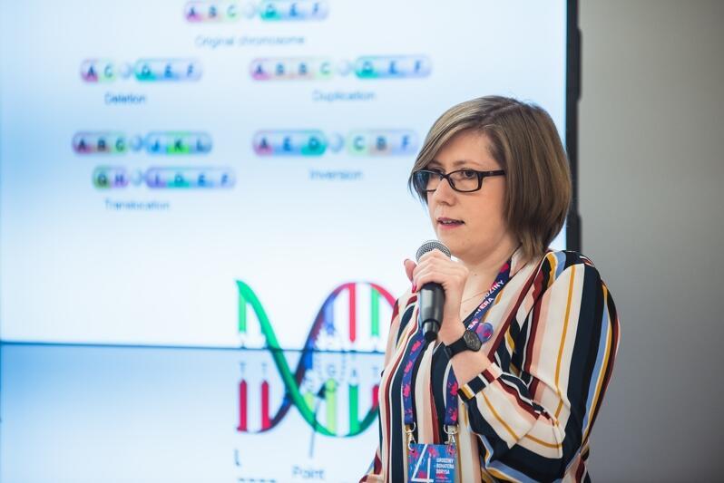 Dr Katarzyna Wertheim-Tysarowska z Instytutu Matki i Dziecka w Warszawie