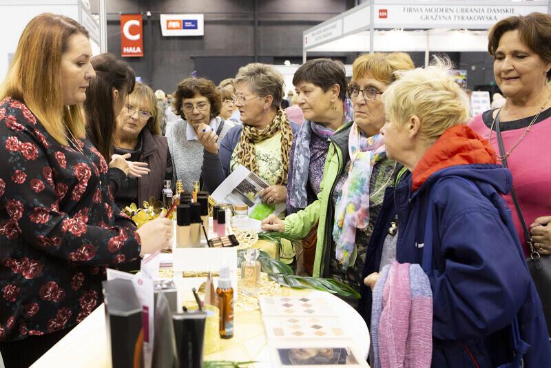 Targi Aktywności i Pracy Seniorów w Amber Expo