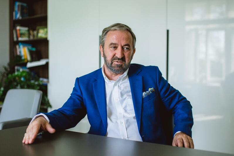 Roland Budnik, dyrektor Gdańskiego Urzędu Pracy