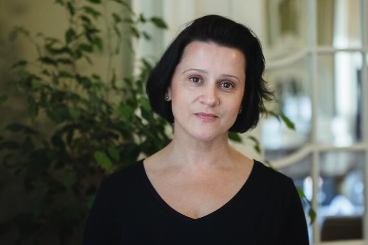 Anna Mikołajczyk, sopran. Zaśpiewa partię tytułową w Oldze