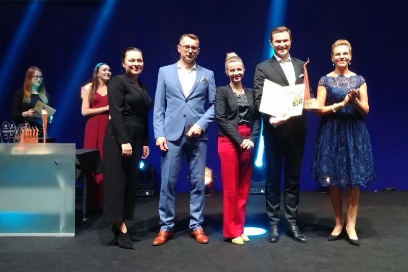 Delegacja Gdańska odbiera nagrodę
