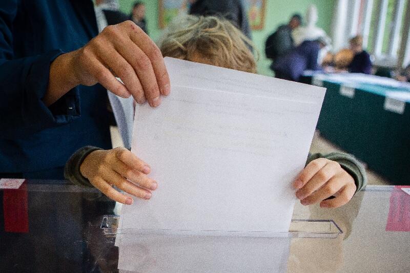 Wybory parlamentarne. Szkoła Podstawowa nr 42, Gdańsk ul. Czajkowskiego 1