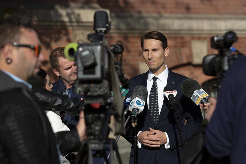 We wtorek Kacper Płażyński poinformował o swoich pomysłach na pracę w Sejmie RP