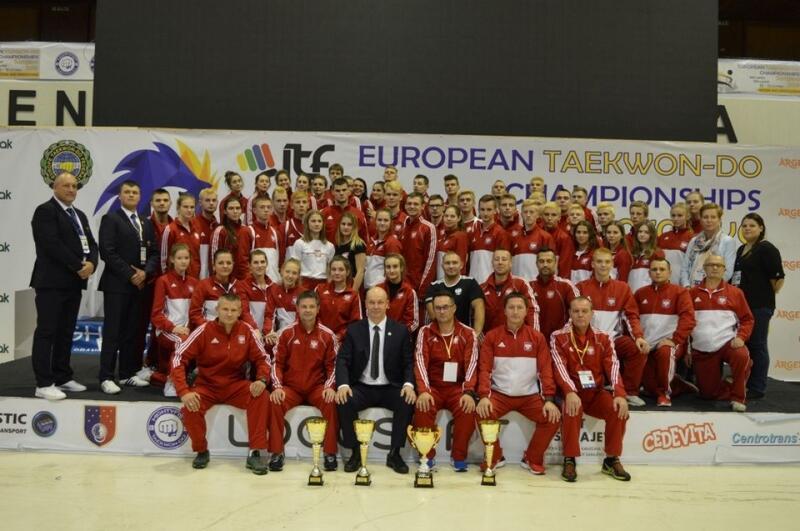 Polska Reprezentacja zwyciężyła klasyfikację medalową mistrzostw Europy
