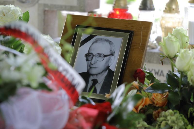 Pogrzeb Brunona Zwarry na gdańskim Cmentarzu Oliwskim, sierpień 2018 roku