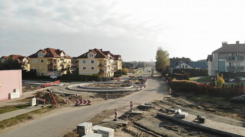 W tej części Gdańska realizowany jest już trzeci etap dużego miejskiego projektu przeciwpowodziowego