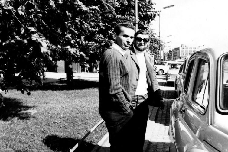 Lata siedemdziesiąte - Tadeusz Jabłoński i Zenon Gralak, pomysłodawcy nagrody żeglarskiej 'Rejs Roku'