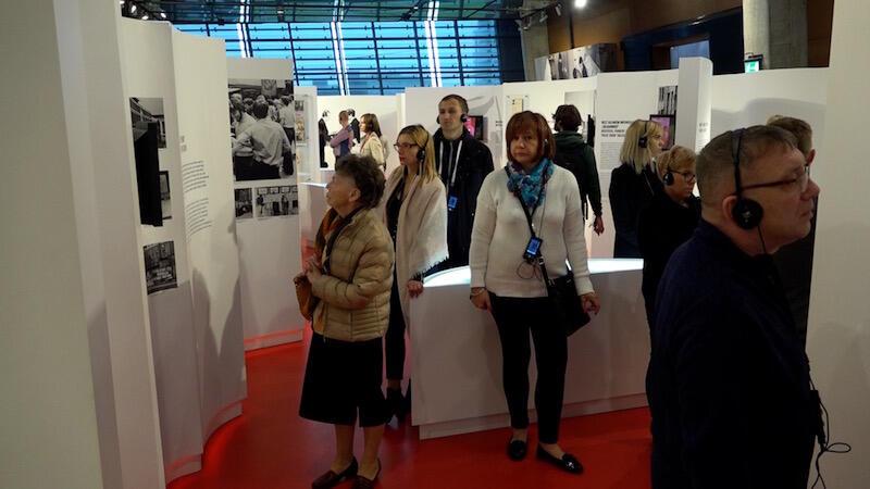 Darmowe zwiedzanie Wystawy Stałej w ECS zmotywowało niektórych, by po raz pierwszy pojawić się w tym miejscu