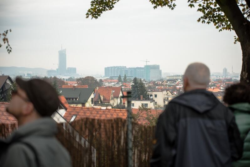 XV punkt widokowy w Gdańsku znajduje się na niewielkim wzgórzu przy ul. Arciszewskiego