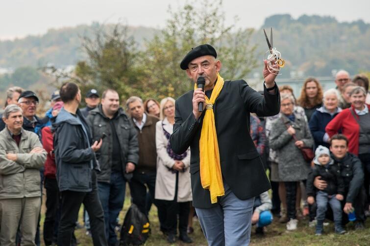 Maestro gdańskich krajobrazów, prof. Witold Burkiewicz, poprowadził niedzielną uroczystość