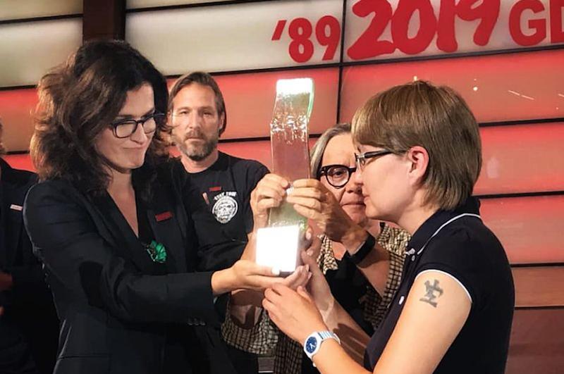 Podczas tegorocznej edycji Festiwalu Solidarity of Arts Oleg Sencow został uhonorowany Nagrodą Prezydenta Miasta Gdańska Neptun. Nagrodę rąk prezydent Gdańska Aleksandry Dulkiwiecz, odebrała kuzynka reżysera - Natalia Kapłan