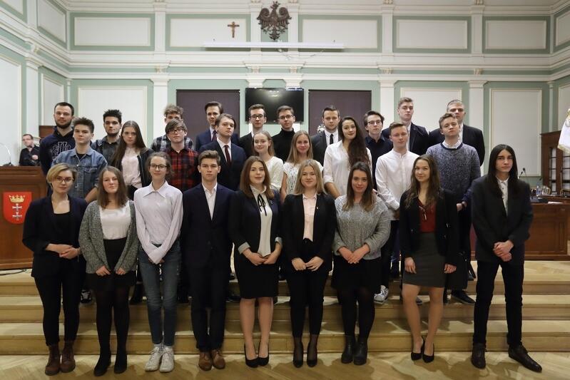 Młodzieżowa Rada Miasta Gdańska, 8 grudnia 2017 r. Po tegorocznych wyborach, rada V kadencji także rozpocznie swoją działalność w grudniu
