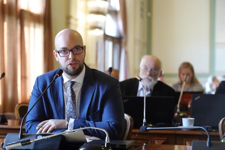 Radny PiS Dawid Krupej dopytywał o inwestycje realizowane w mieście w ramach partnerstwa publiczno-prywatnego