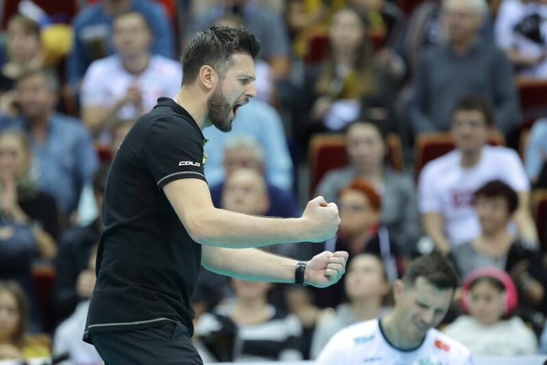 Michał Winiarski zadebiutował w roli pierwszego trenera w meczu PlusLigi