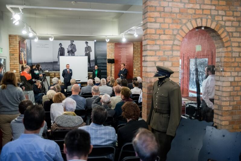 Konferencja inaugurująca działalność Centrum Pamięci o Polakach z Wolnego Miasta Gdańska im. Brunona Zwarry odbyła się w Muzeum Poczty Polskiej/ oddziale Muzeum Gdańska