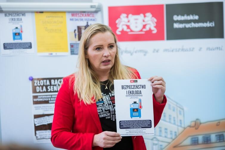 Aleksandra Strug, rzeczniczka Gdańskich Nieruchomości, przestrzegała starszych gdańszczan m.in. przed potencjalnymi oszustami
