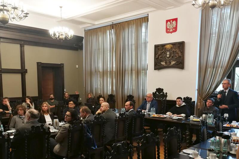Prezentacja ekspertyzy na Politechnice Gdańskiej