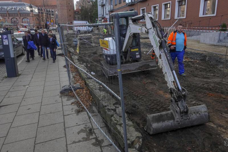 Modernizacja skweru przy ul. Podmłyńskiej zakończy się w 2020 roku
