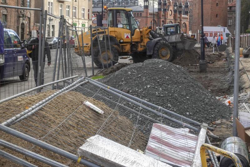 Dzięki modernizacji pojawi się też nowa przestrzeń do oglądania zabytków Gdańska