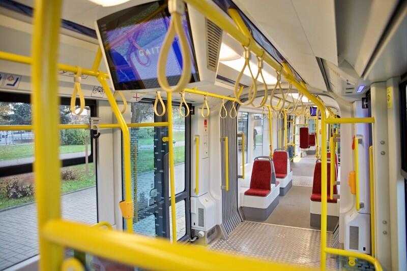 W nowym pojeździe jest miejsce dla 206 pasażerów