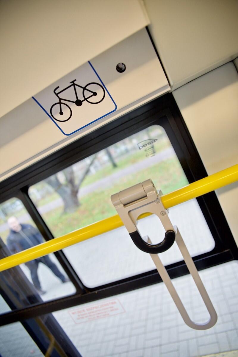 Wieszak do przewozu rowerów