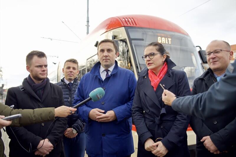 Prezydent Gdańska Aleksandra Dulkiewicz: - Gdańsk konsekwentnie realizuje program komunikacji publicznej