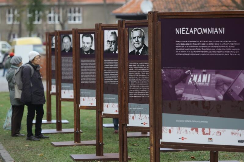 Wystawa jest częścią projektu Znani Niezapomniani