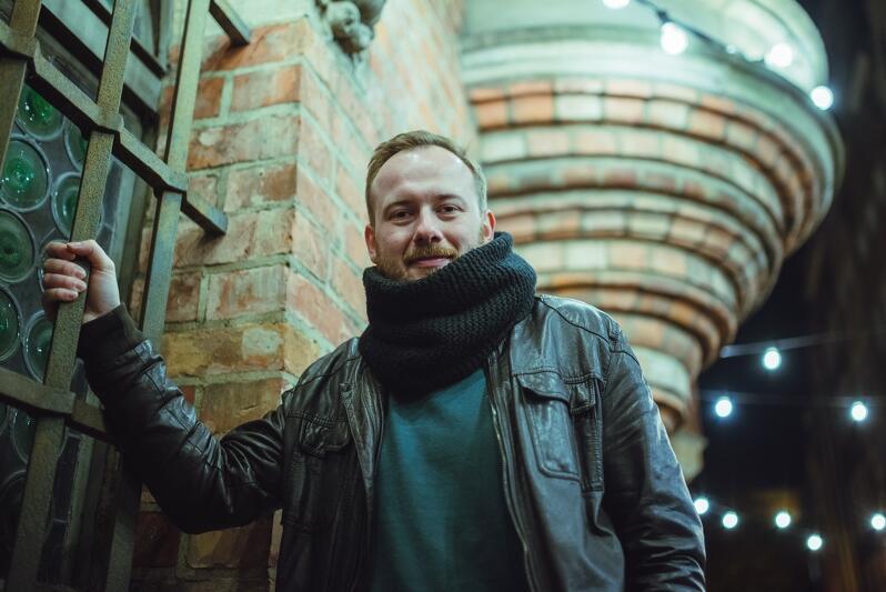 Michał Ślubowski twórca bloga Gedanarium