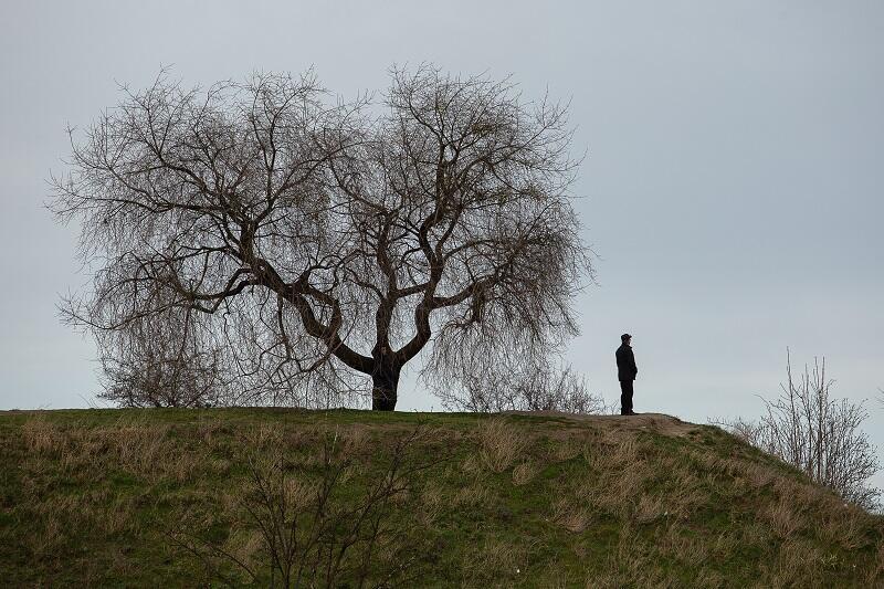 Góra Gradowa w Gdańsku - jedno z miejsc, które pojawia się w książce twórcy Gedanarium o mrocznej stronie naszego miasta