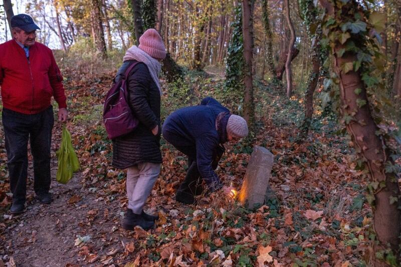 Odwiedzanie dawnego cmentarza to oddolna inicjatywa mieszkańców Wrzeszcza