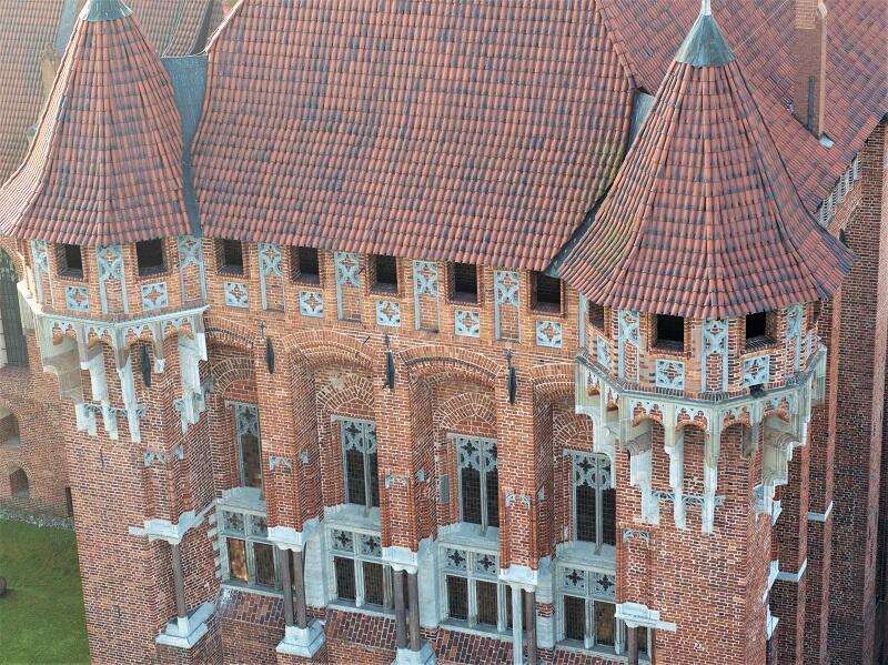 Największy gotycki skarb Polski i Europy - zamek w Malborku - także wystąpi w programie