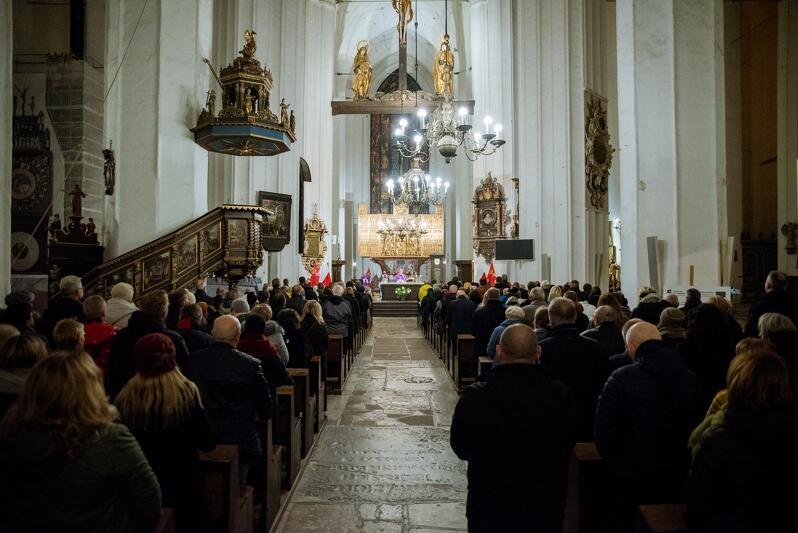 Bazylika Mariacka w Gdańsku, 2 listopada 2019 r.
