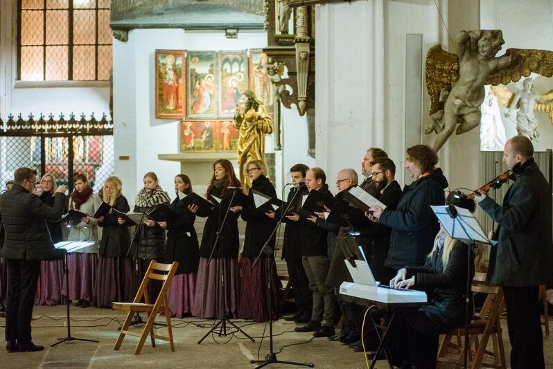 O oprawę muzyczną gdańskich zaduszek zadbała Capella Gedanensis