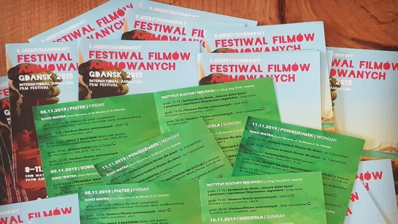 Międzynarodowy Festiwal Filmów Animowanych odbędzie się w Gdańsku od 8 do 11 listopada 2019 r.