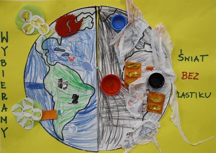 Świat bez plastiku oczami przedszkolaków