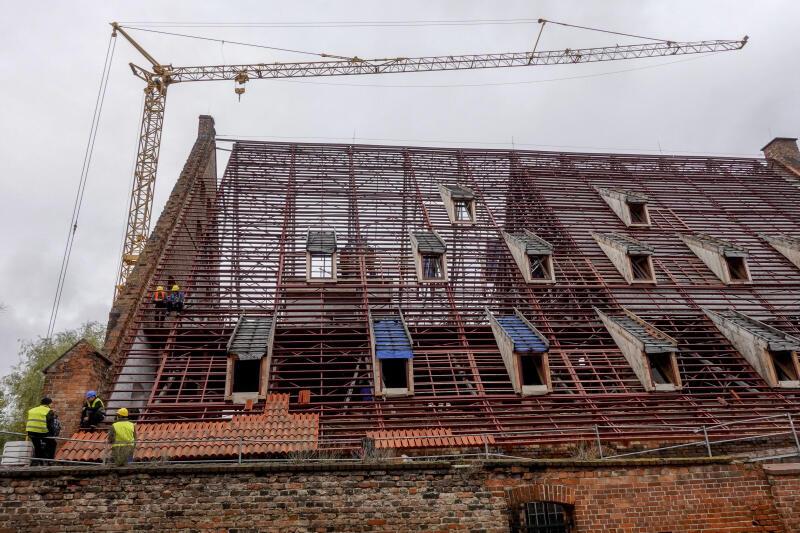 W Wielkim Młynie w przyszłości ma mieścić się Muzeum Bursztynu - jeden z oddziałów Muzeum Gdańska