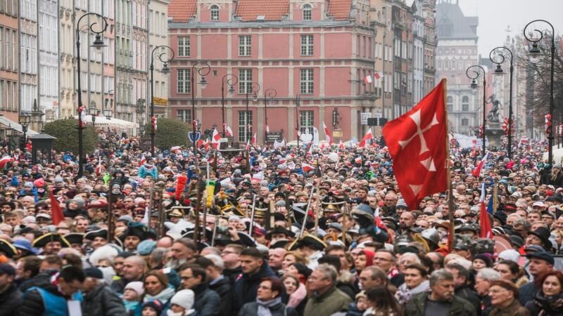 Na zdj.: Parada Niepodległości 2018 w Gdańsku