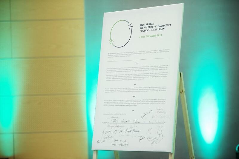 Pod deklaracją podpisy złożyło kilkunastu samorządowców z Pomorza i Polski
