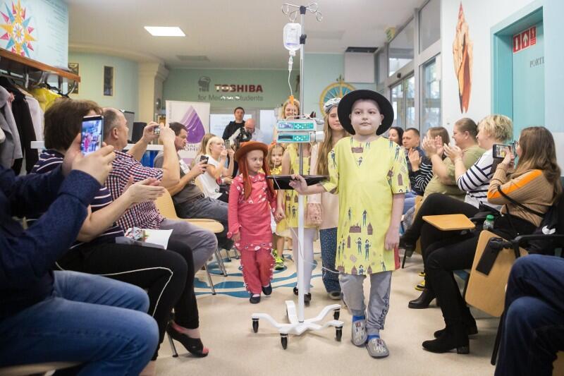 Pokaz w Klinice Pediatrii, Hematologii i Onkologii Szpitala UCK w Gdańsku