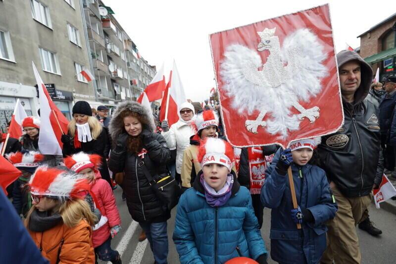20 tysięcy gdańszczan wzięło udziała w Pradzie Niepodległości 2019. Przyszli całymi rodzinami