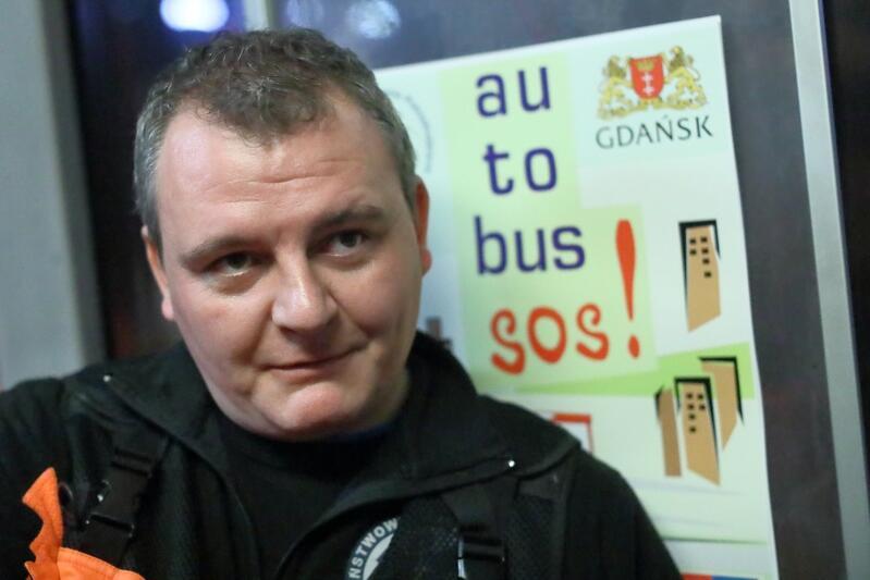 Artur Stefan, ratownik medyczny na pokładzie Autobusu SOS