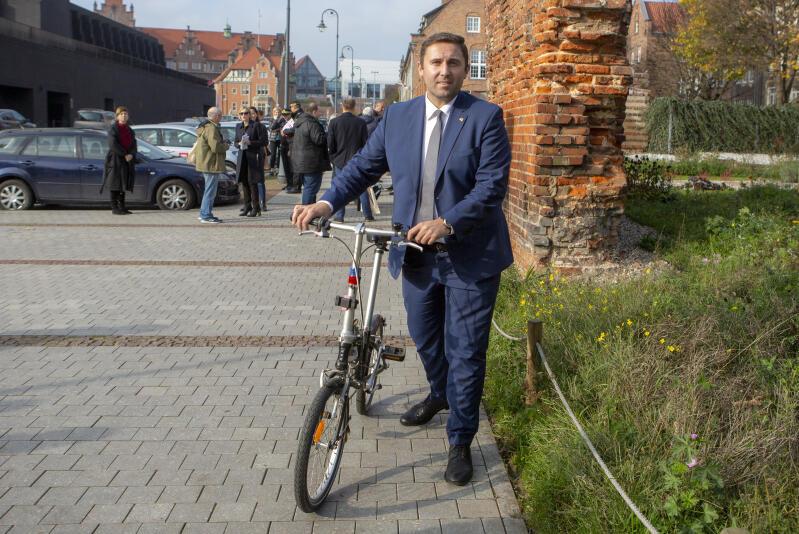 Piotr Borawski, zastępca prezydenta Gdańska ds. przedsiębiorczości i ochrony klimatu